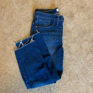 Madewell crop flare jeans (Cali-Demi boot)